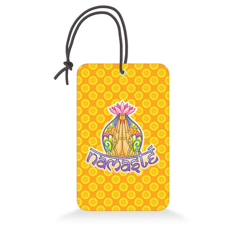 Namaste | Trendy Luggage Tag