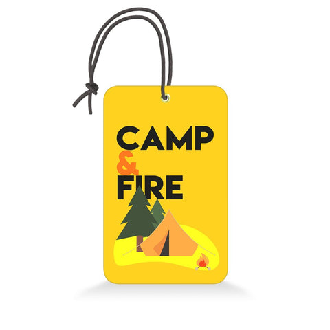 Camp & Fire | Trendy Luggage Tag