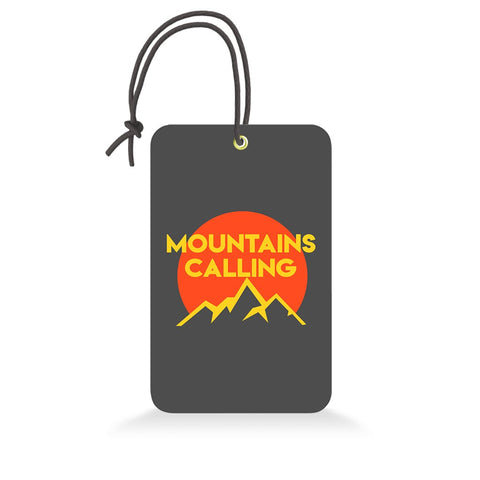 Mountain Calling | Trendy Luggage Tag