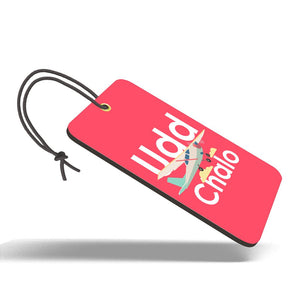 Udd Chalo | Trendy Luggage Tag
