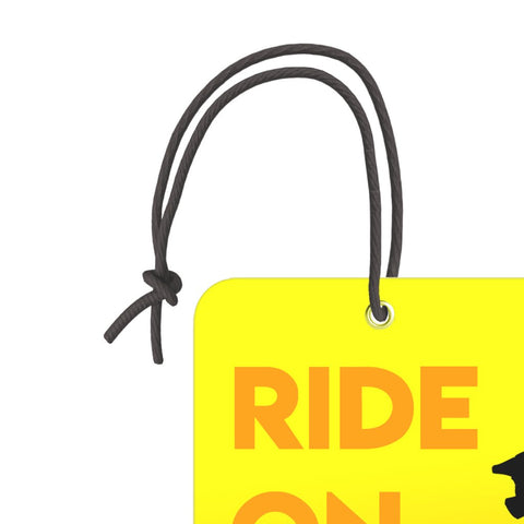 Ride On | Trendy Luggage Tag
