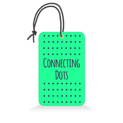 Connecting Dots | Trendy Luggage Tag