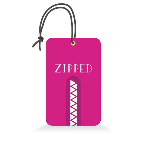 Zipped | Trendy Luggage Tag