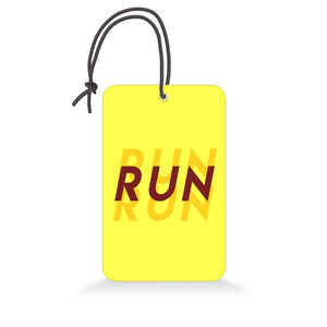 Run | Trendy Luggage Tag