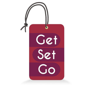 Get Set Go | Trendy Luggage Tag