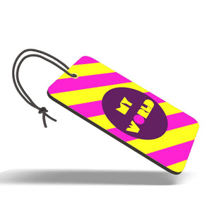My World | Trendy Luggage Tag