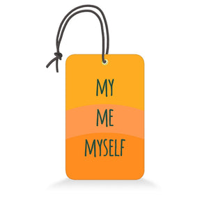 My Me Myself | Trendy Luggage Tag