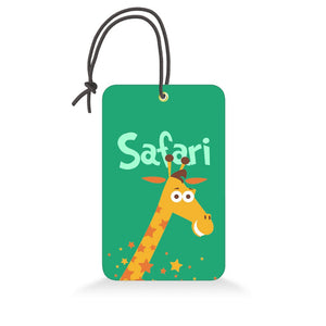 Safari | Trendy Luggage Tag