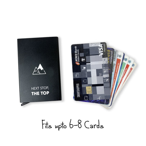Next Stop The Top | Almy Pop up Card Wallet