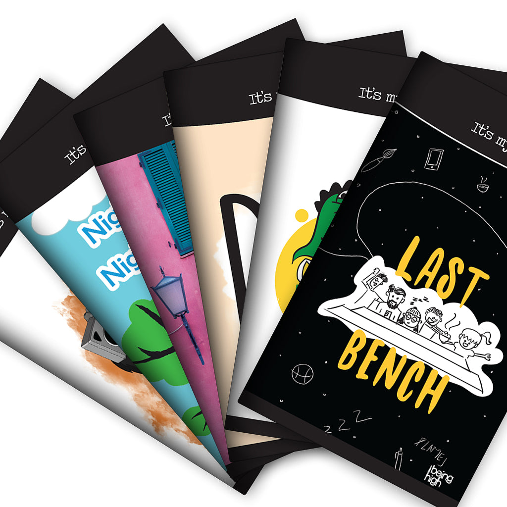 Long Note Book by It's my note - Limited Edition