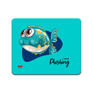 I Love Phishing | Rectangle Mouse Pad