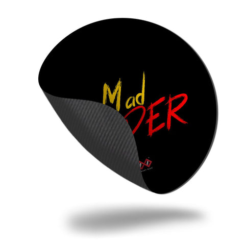 Mad Coder | Round Mouse Pad