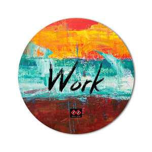 Work | Round Mouse Pad