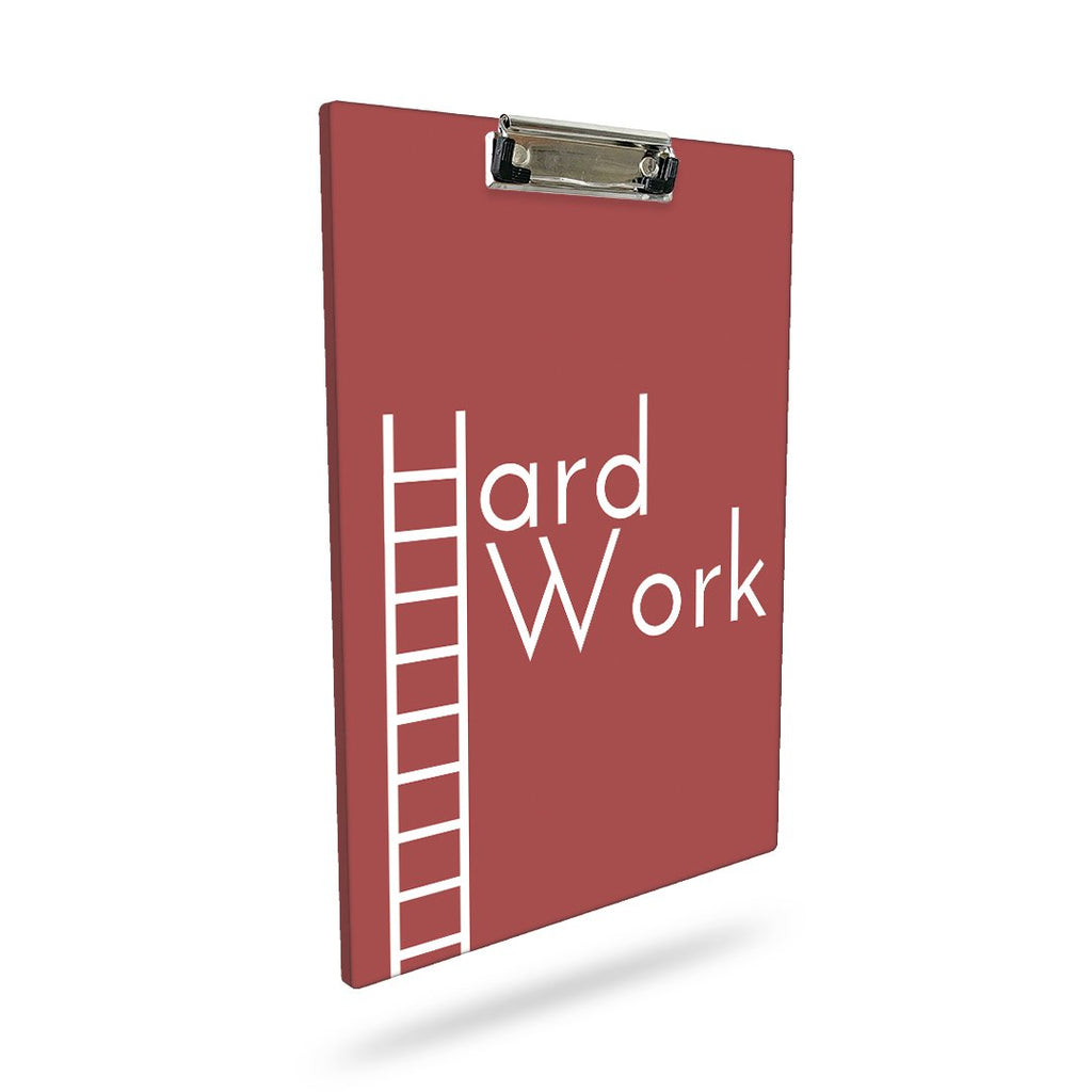 Hard Work | A4 Clip Board