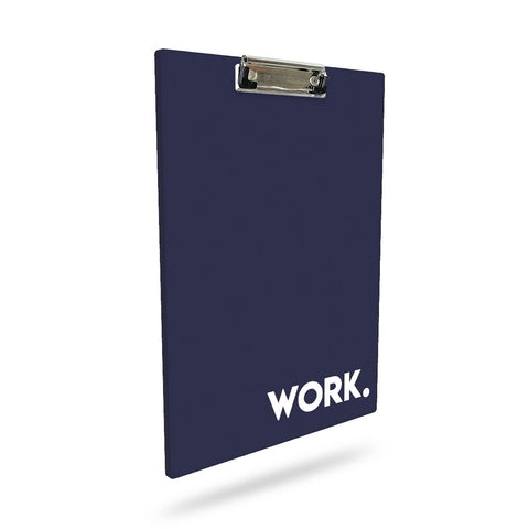 Work. | A4 Clip Board