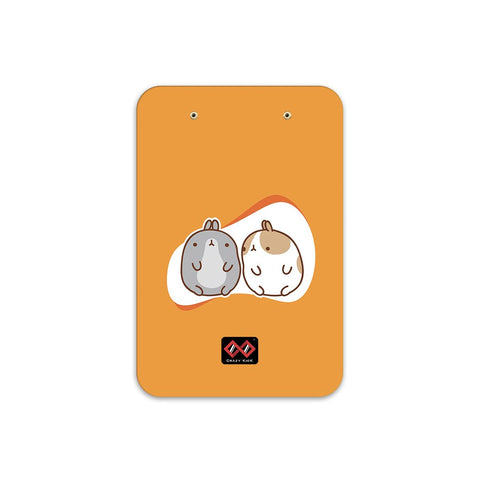 Twin Rabbits | A5 Radius Clip Board