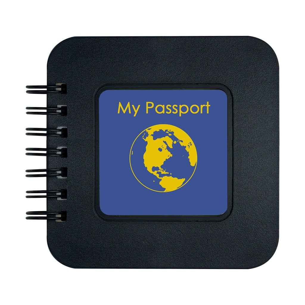 """My Passport"" Pocket Note"