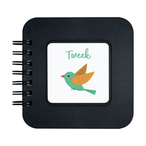 Tweek Cute Bird Design Pocket Note