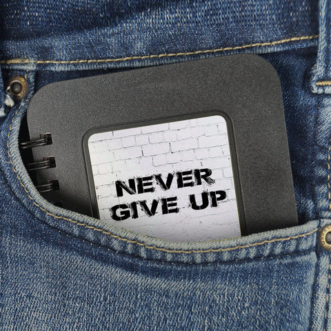 Never Give Up | Pocket Note