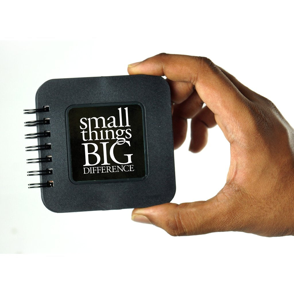 Small Things Big Difference | Pocket Note