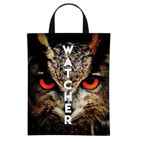 Watcher Owl | Satin Bag