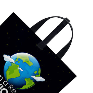 I'm the real saviour of Earth | Satin Bag