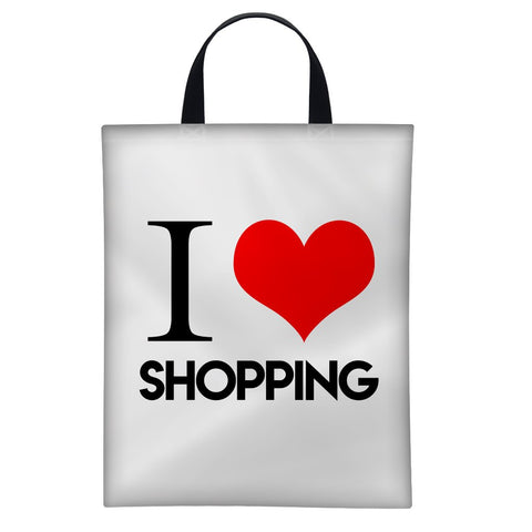 I Love Shopping ♥ | Satin Bag