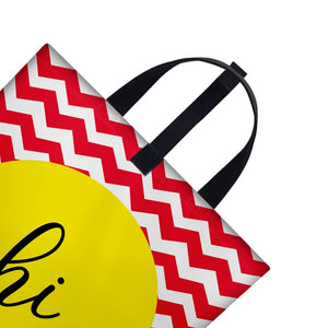 Hi Zig Zag pattern| Satin Bag