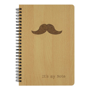Moustache | TouchWood Note Book