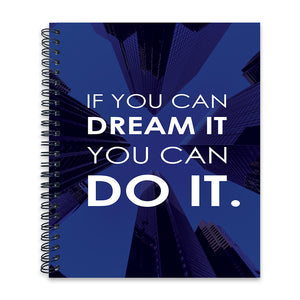 Dream it Do it | Wiro Note Book