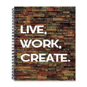 Live Work Create | Wiro Note Book