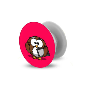 Studious Owl | Pop Socket