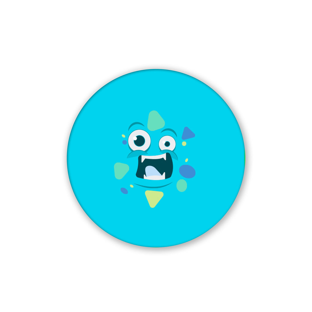 Blue Moster | Pop Socket
