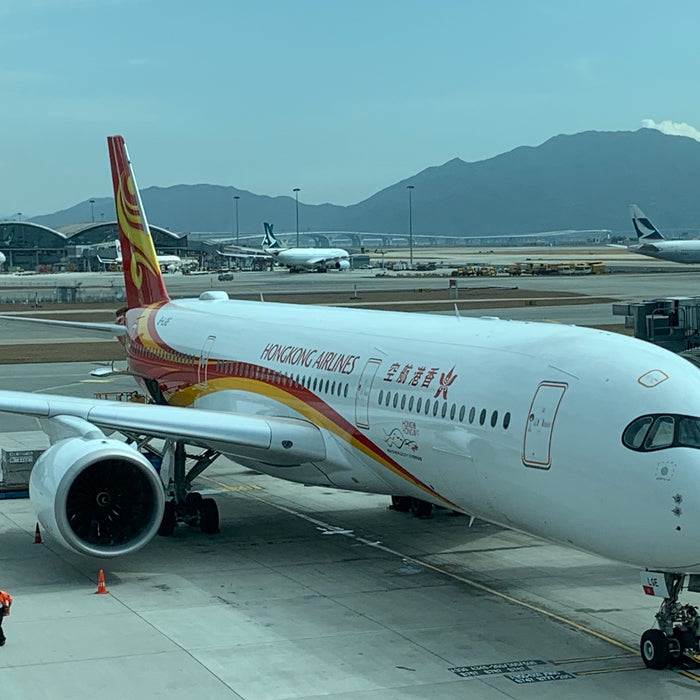 Hong Kong Airlines - Happier Times a Year Ago - Use those Fortune Wings Club Miles