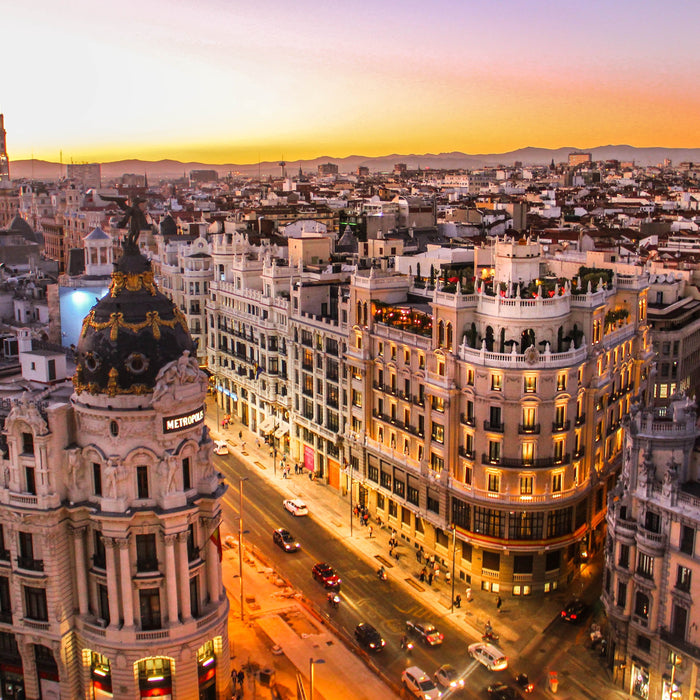 Autumn fares NYC to Madrid from just $232