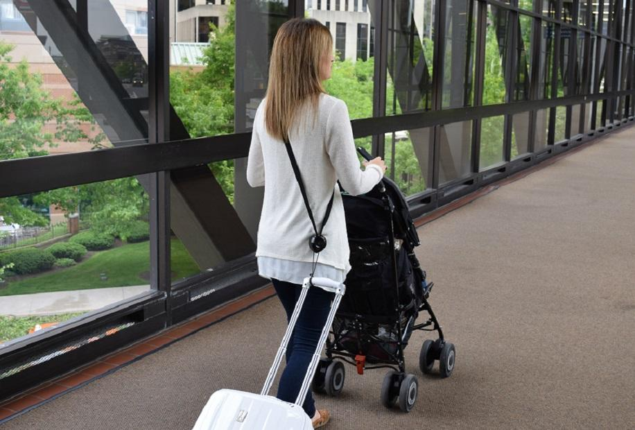 (U.S.) RetraStrap - Tow luggage hands free