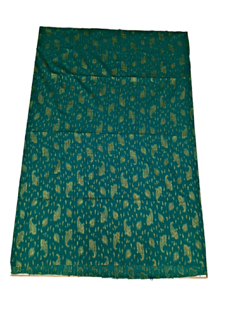 Blue And Sea Green Color Fancy Design Cotton Satin Bandhani Dress Material - KalaSanskruti Retail Private Limited