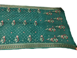 All Over Sea Green Color Fancy Design Art Silk Bandhani Saree - KalaSanskruti Retail Private Limited