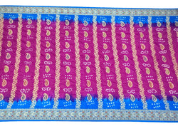 All Over Multi Color Fancy Design Art Silk Bandhani Saree - KalaSanskruti Retail Private Limited