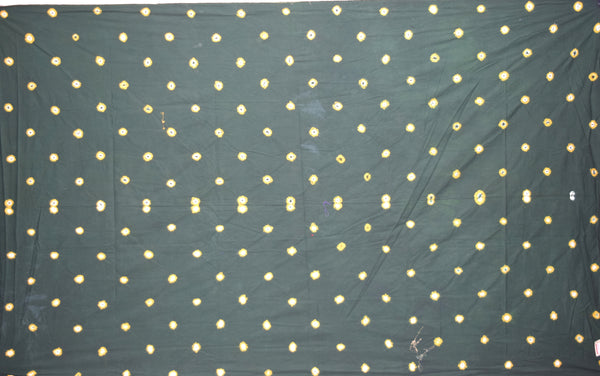 All Over Green Color Fancy Design Cotton Satin Than
