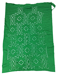 All Over Green Fancy Design Cotton Bandhani Kurti - KalaSanskruti Retail Private Limited