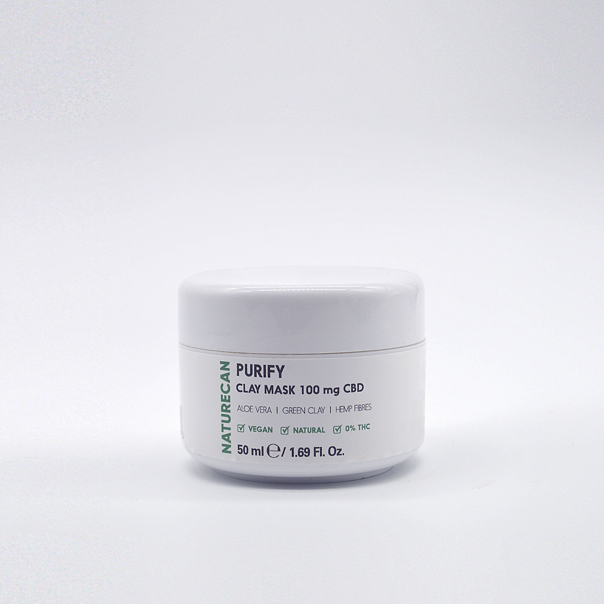 Masque d'argile au CBD Purify