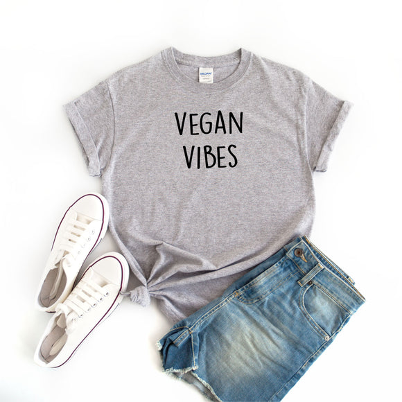 Vegan Vibes Women's T-Shirt - Quote My Gift