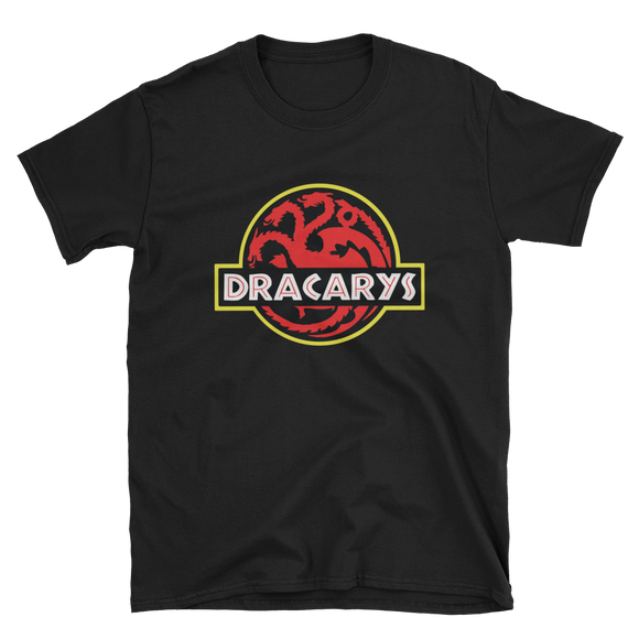 Game Of Thrones Dracarys Jurassic Park Style Shirt - Quote My Gift