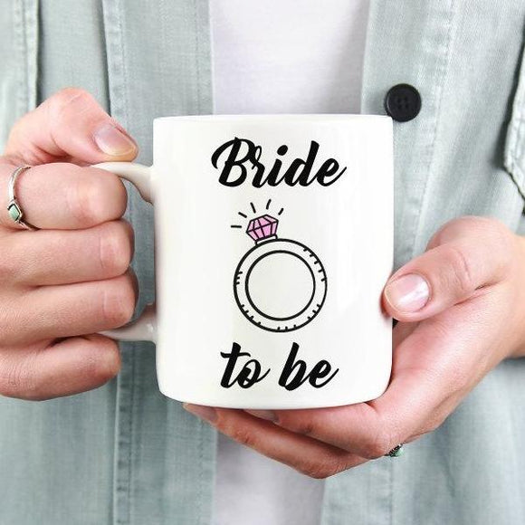 Bride To Be Mug - Quote My Gift
