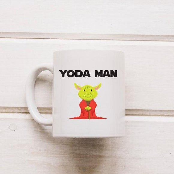 Yoda Funny Star Wars Coffee Mug - Quote My Gift
