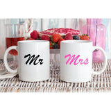 Mr And Mrs Coffee Mug Set - Quote My Gift