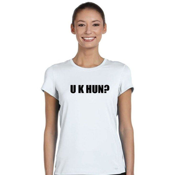 UK Hun Funny Womens T Shirt - Quote My Gift