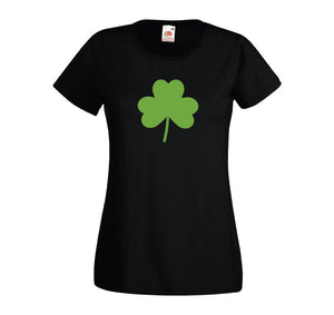 St Patricks Day Women's T-Shirt Black - Quote My Gift