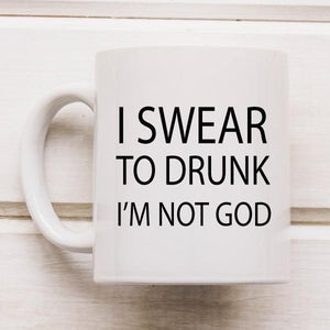 Drunk Novelty Funny Coffee Mug - Quote My Gift